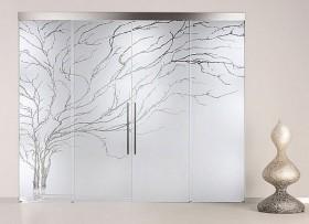 stiklo-durys